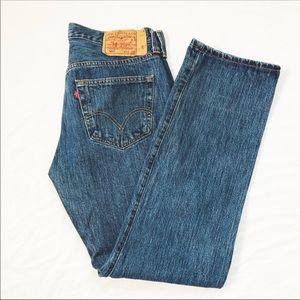 Levi's 501 Men's Button Fly Jeans Sz 33 x 32